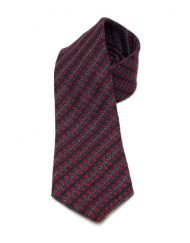 Modernist Spot Tweed Tie
