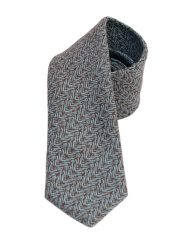 Blue Wave Tweed Tie