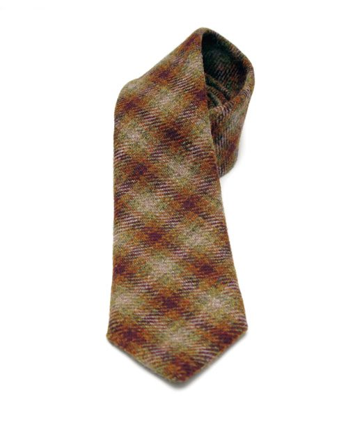 British Explorer Tweed Tie