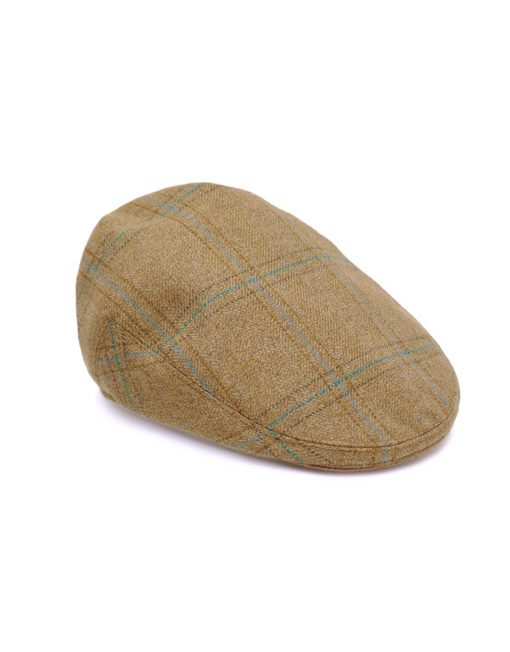 Stockton Tweed flat cap